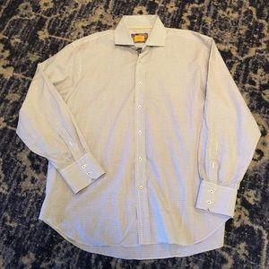 Robert Talbott Carmel Spread Collar Dress Shirt